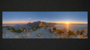 WH003 Lion's Head Sunset