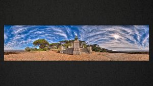 WH033 Rhodes Memorial Clouds